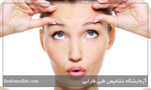 عامل ايجاد چروک پوست