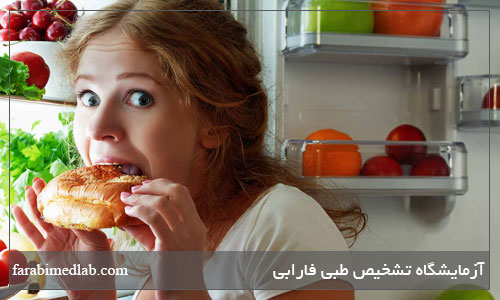 عامل اصلی پرخوری