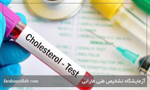 آزمایش کلسترول