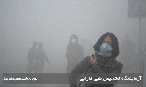 عوارض آلودگی هوا