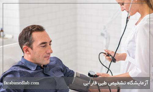 فشار خون در مردان