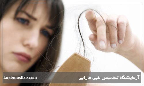 مهمترین دلایل ریزش مو