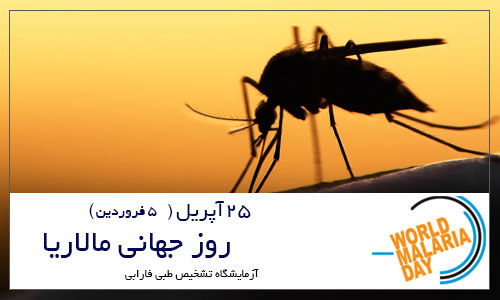 25 آپریل 2018 روز جهانی مالاریا