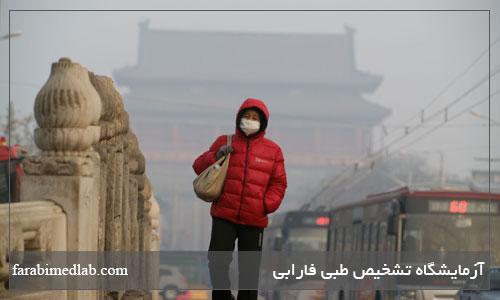 اثرات آلودگی هوا