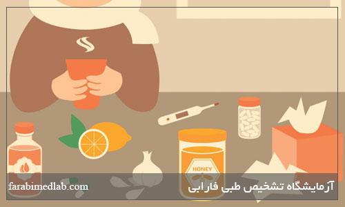 غذا برای درمان آنفلوانزا